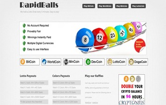 rapid balls web page