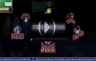strike sapphire website